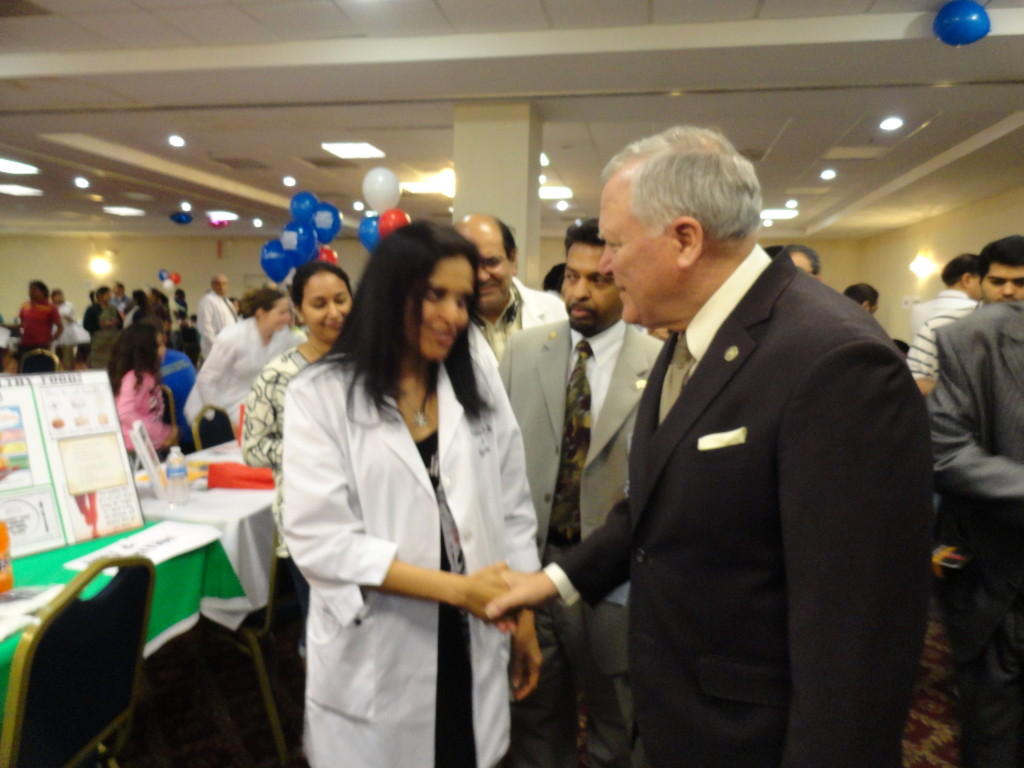 Governor of Georgia Mr Nathan Deal at our booth