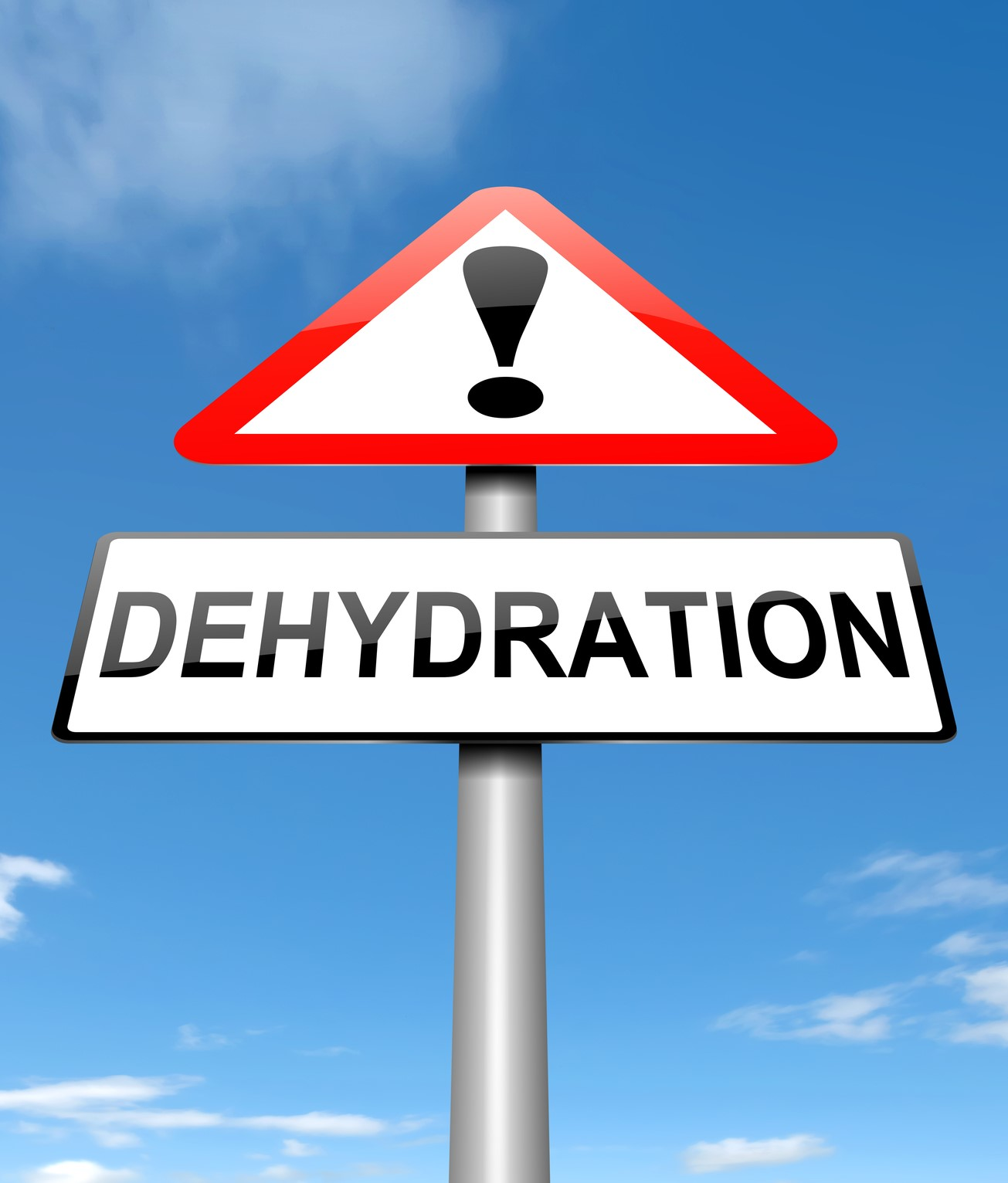 dehydration warning